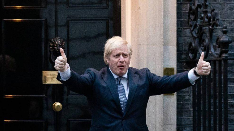 El primer ministro británico, Boris Johnson. Foto: EP