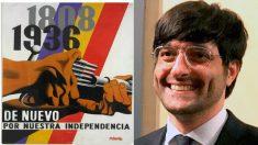 El mensaje guerracivilista publicado por Joan Maria Piqué, jefe de prensa del conseller Miquel Buch.