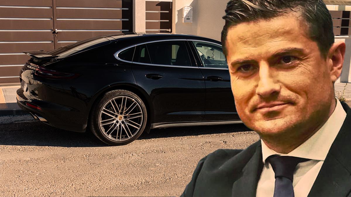 Alfonso Merlos compró su Porsche a través de una patrimonial.