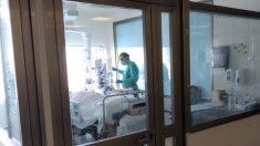 Imagen de la UCI del hospital Infanta Elena de Huelva durante la pandemia del coronavirus