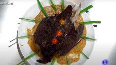Así es el vergonzoso plato de Saray en Masterchef 8
