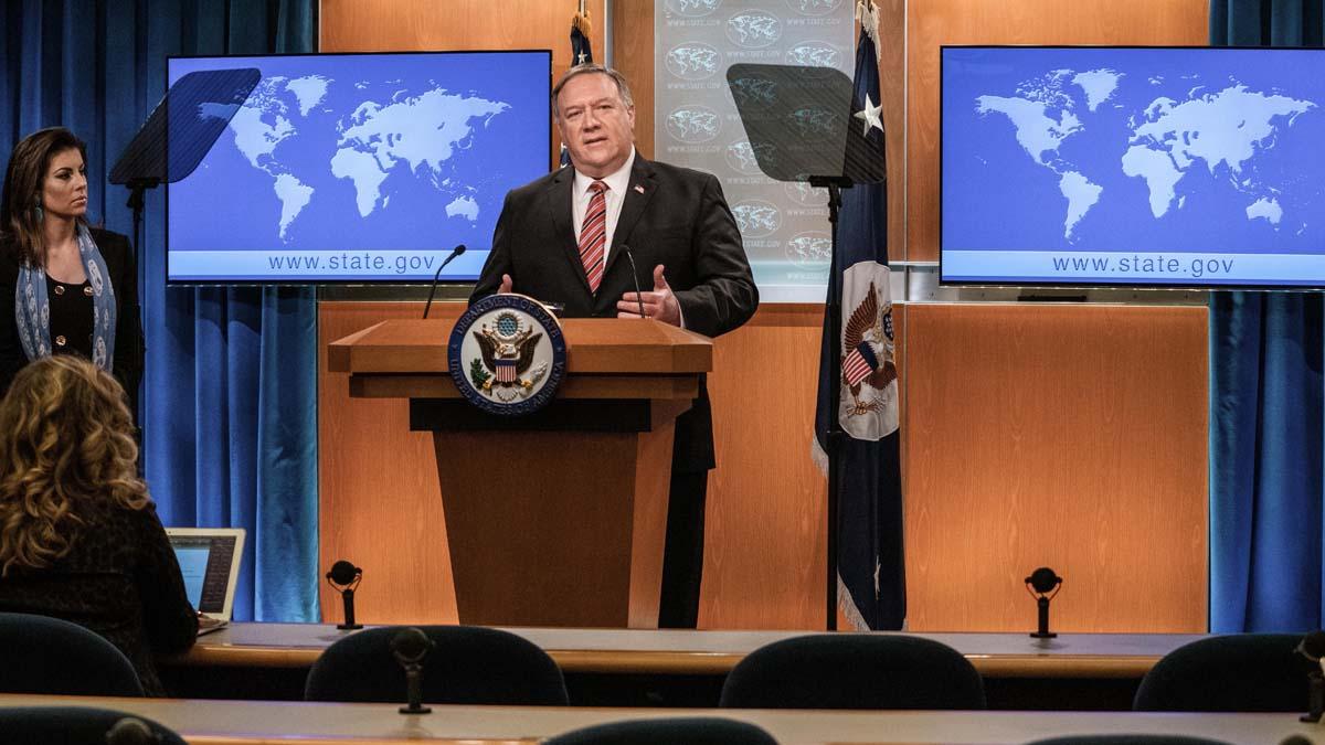 Mike Pompeo, secretario de Estado de EEUU. Foto: EP
