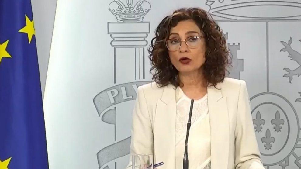 La portavoz del Gobierno y ministra de Hacienda, María Jesús Montero (Europa Press).