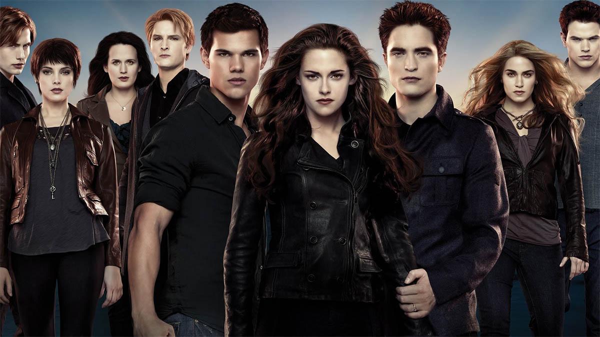 Los personajes de la versión cinematográfica de la saga 'Crespúsculo'.