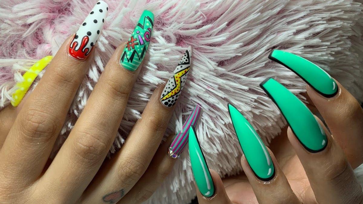 El nail art está alcanzando niveles increíbles