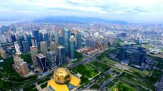 Distrito de Jianggan en Hangzhou (China), donde tiene su sede la firma Hangzhou Ruining Trading.