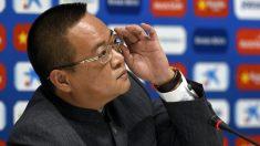 Chen Yansheng, en una rueda de prensa. (AFP)