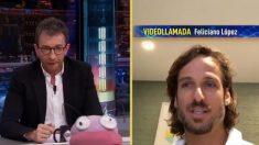 Feliciano López en 'El Hormiguero'