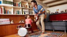 Los mejores juegos musicales par distraer a los niños en casa
