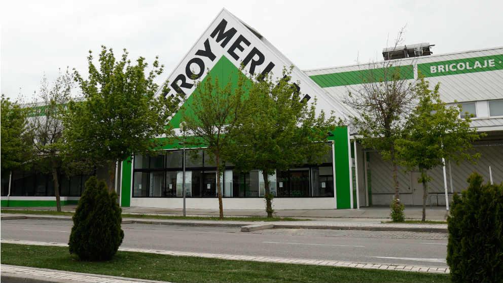 Leroy Merlin en Madrid cerrado este pasado Jueves Santo