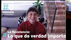 David Broncano entrevista por videollamada a Sofía Reyes