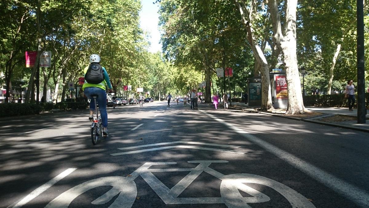El madrileño Paseo del Prado será peatonal durante la desescalada.