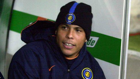 Ronaldo Nazario, durante su etapa en el Inter de Milán. (Getty)