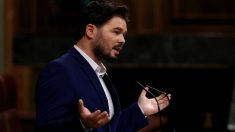 El diputado de ERC Gabriel Rufián. Foto: EFE
