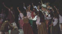 Un momento de la representación de 'Fuenteovejuna', de Lope de Vega, que se representa cada año en la localidad cordobesa de Fuente Obejuna.