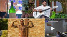 Neymar, durante el confinamiento en Brasil.