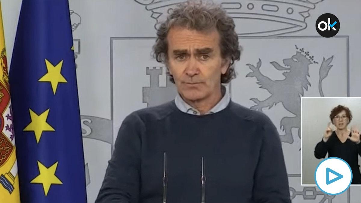 Fernando Simón, director del Centro de Alertas y Emergencias Santiarias (CCAES).