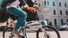 Circular con bicicleta