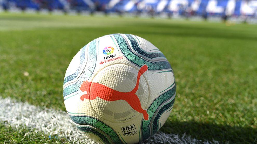 El balón de la Liga.