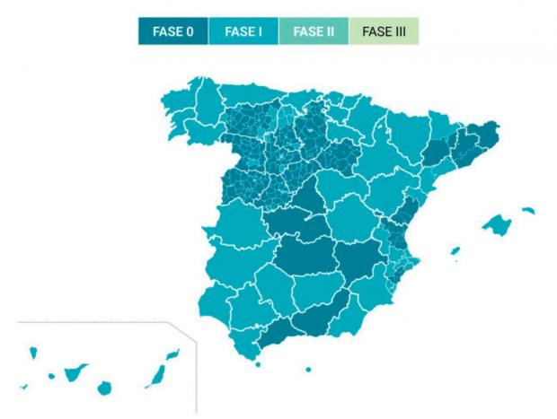 Coronavirus, en directo: cifras de contagios por Covid-19 y última hora de la fase 1 de la desescalada en España