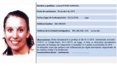 Lorena Piteria encontrada cuatro años después