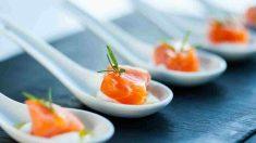 Receta de Bombitas de salmón rellenas de aguacate