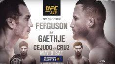 UFC 249 Hora y dónde ver el combate entre Tony Ferguson y Junstin Gaethje