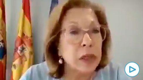 La consejera de Sanidad de Aragón, Pilar Ventura.