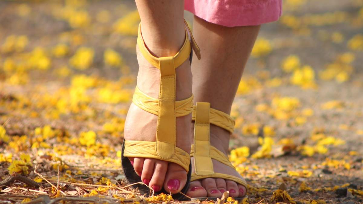 Los pies se lucen especialmente cuando llega el verano