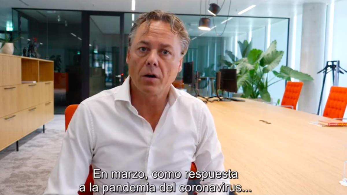 Ralph Hamers, CEO de ING y futuro máximo dirigente de UBS