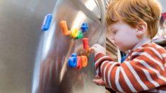 Todos los pasos para hacer imanes de goma eva con los niños