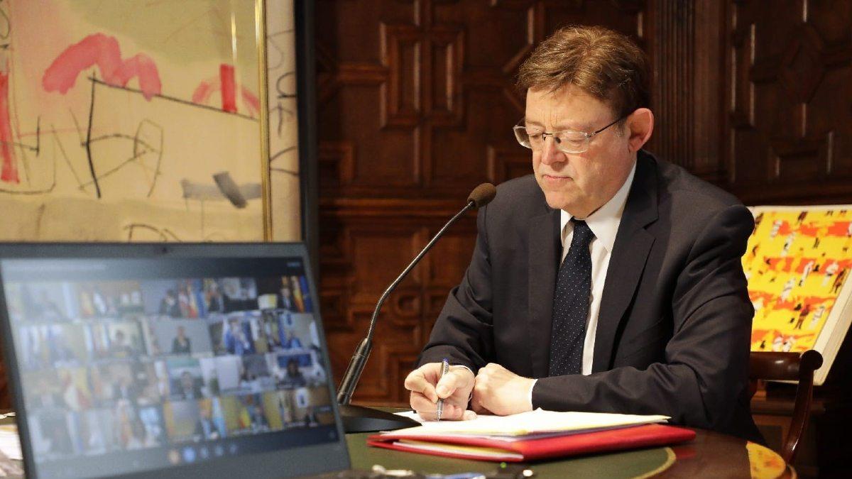 El presidente de la Comunidad Valenciana, Ximo Puig. Foto: EP