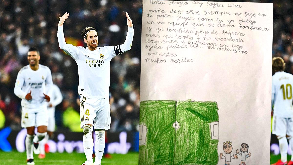 Sergio Ramos y la carta de Sofía.
