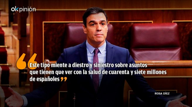 Pedro Sánchez, «el trolas»