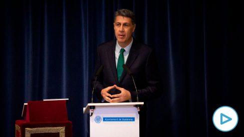 El alcalde de Badalona, Xavier García Albiol. Foto EP