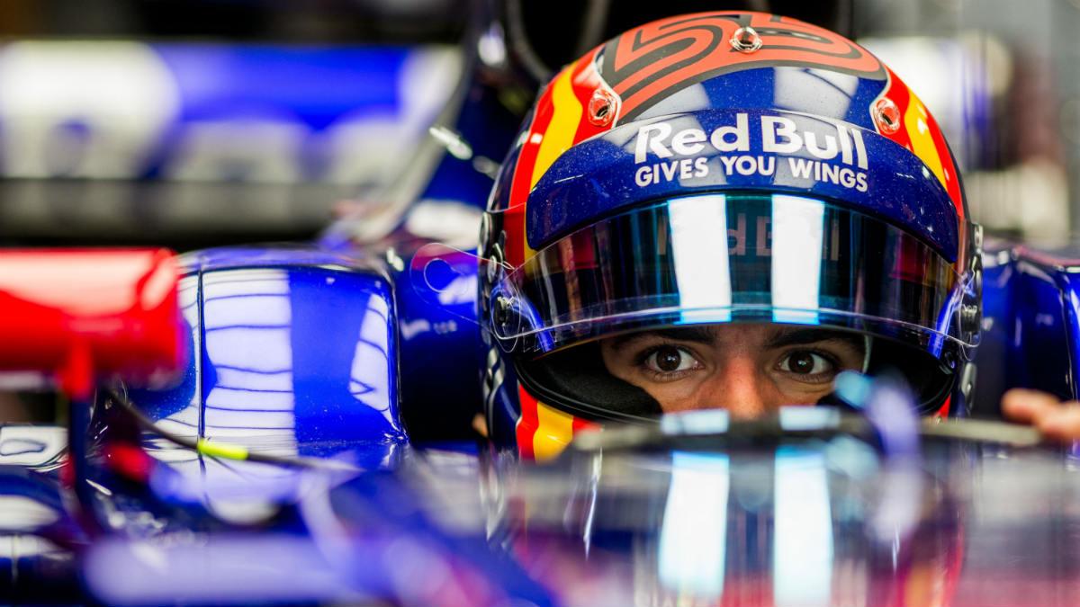 Carlos Sainz, en su etapa en Red Bull. (Getty)