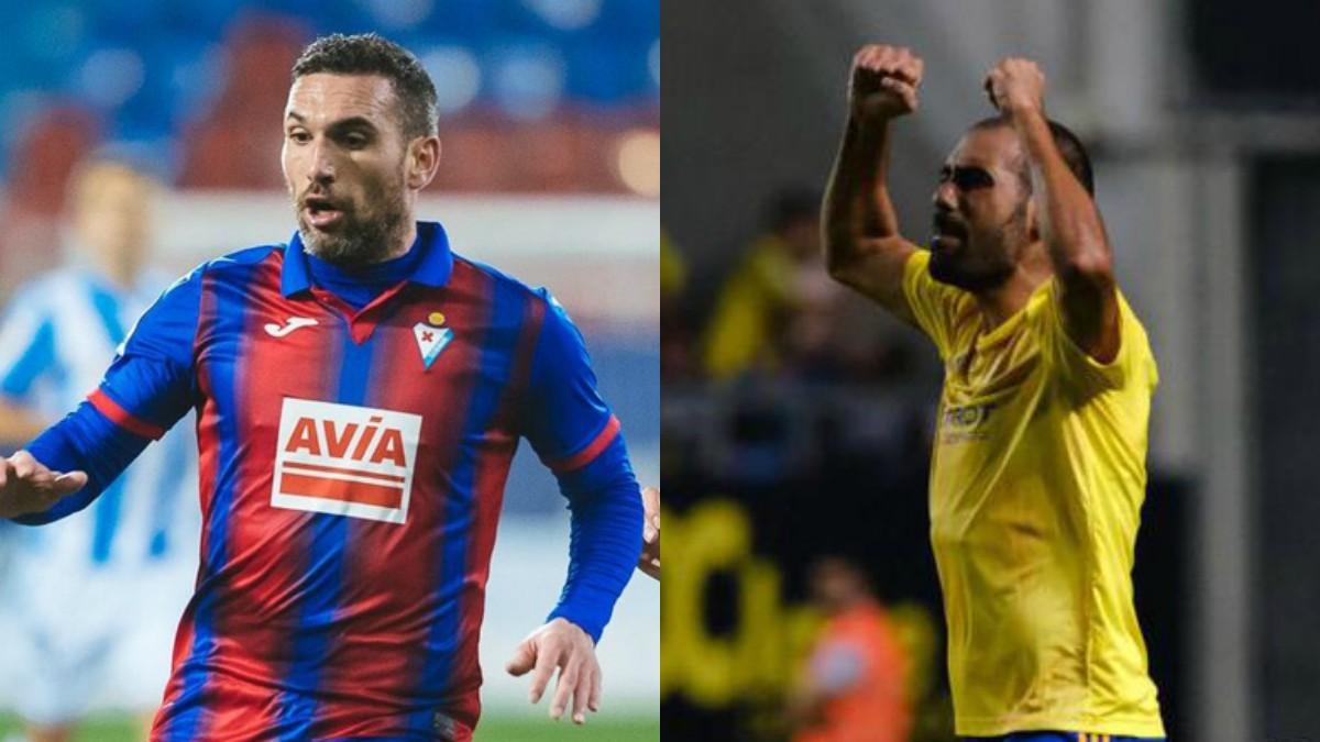Arbilla y Fali, dos de los jugadores que se han negado a entrenar por miedo al coronavirus.