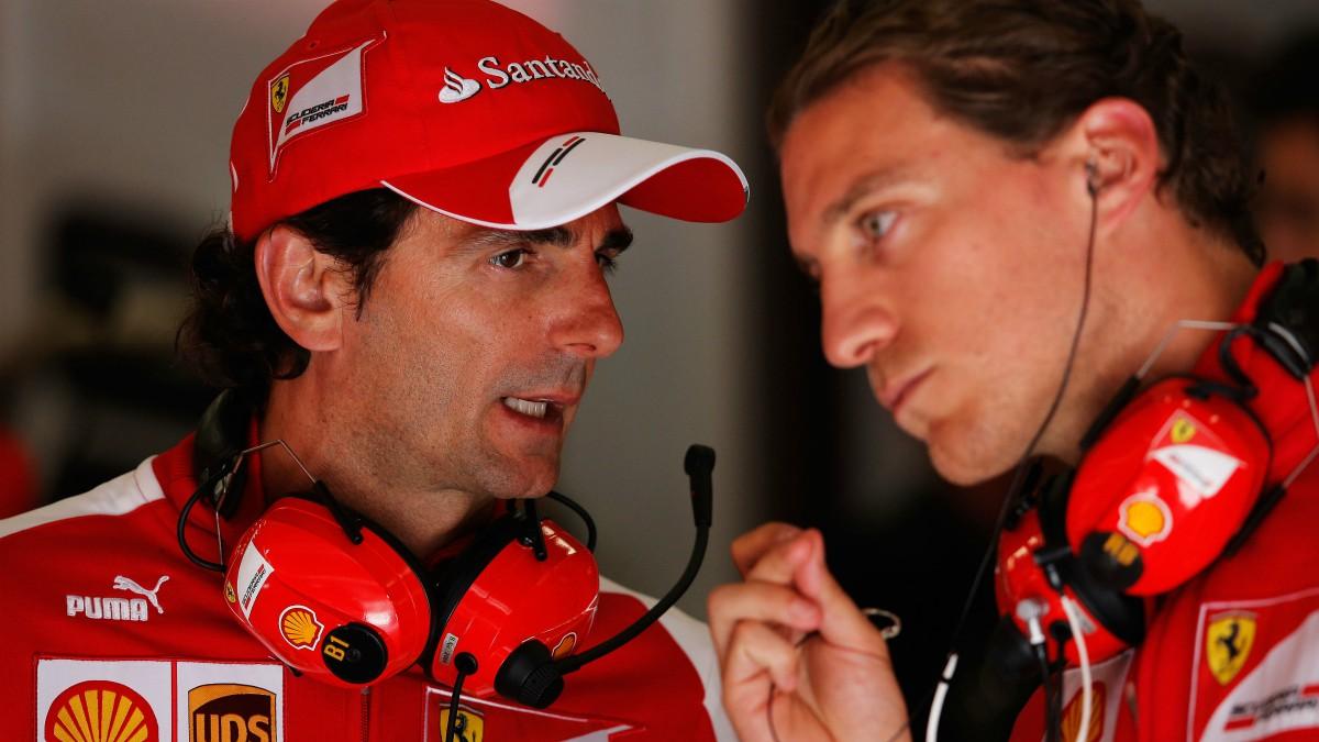 De la Rosa, durante su etapa como probador de Ferrari. (Getty)