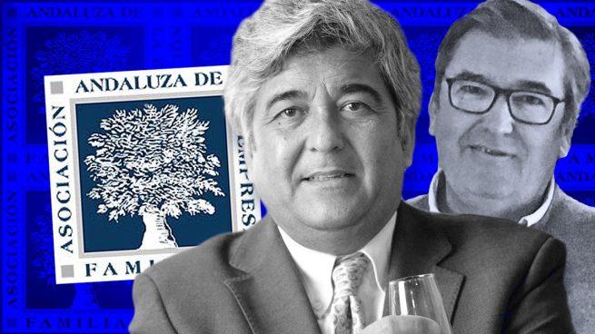 José Luis Martínez Lázaro y Manuel Barbadillo Eyzagirre, Presidente y Vicepresidente de la Asociación Andaluza de la Empresa Familiar.