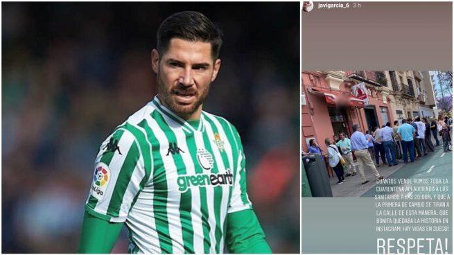 Javi García y su duro mensaje en Instagram.