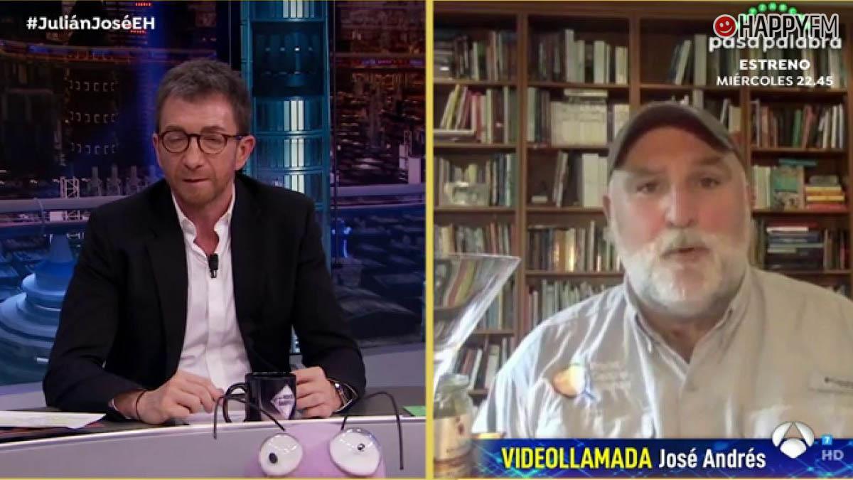 José Andrés en 'El Hormiguero'