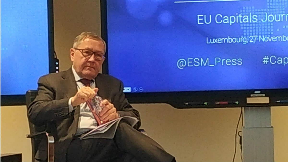 El director gerente del MEDE, Klaus Reging