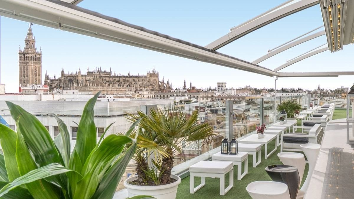 Terraza en Sevilla