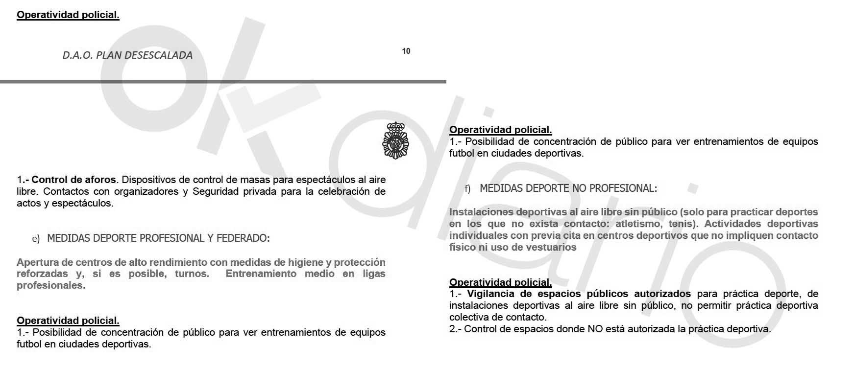 Marlaska ordena un «control» extra de las calles para evitar protestas contra Sánchez en la hora del deporte