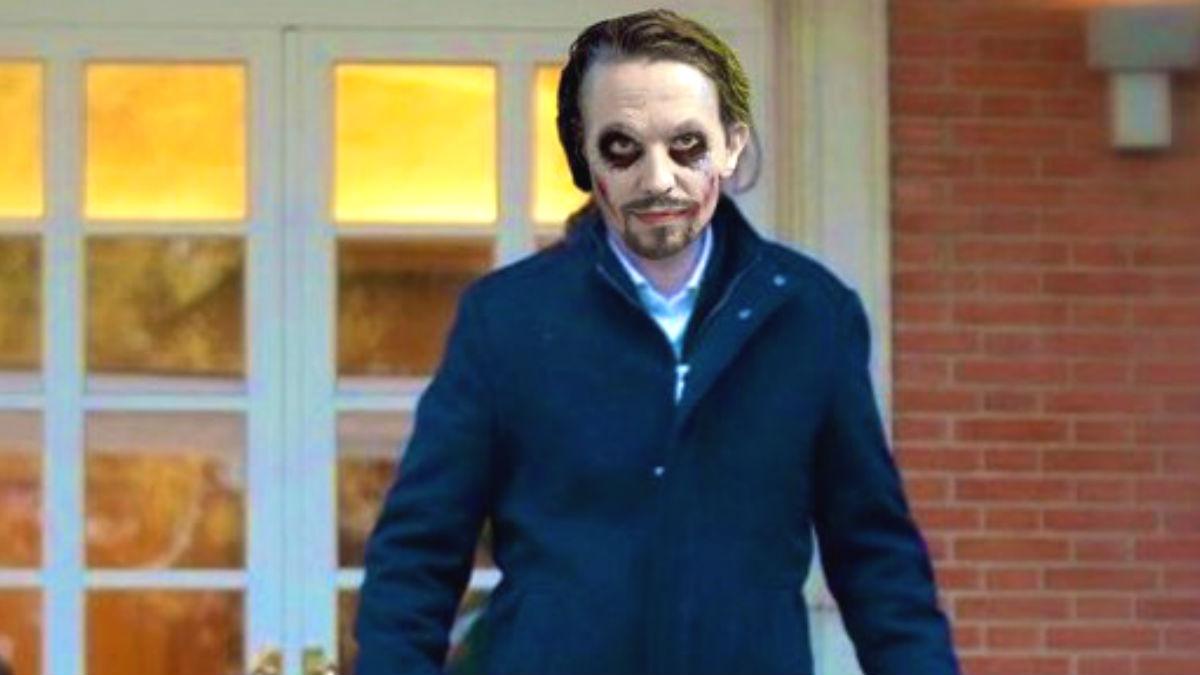 Los mejores memes de Pablo Iglesias como el Joker.