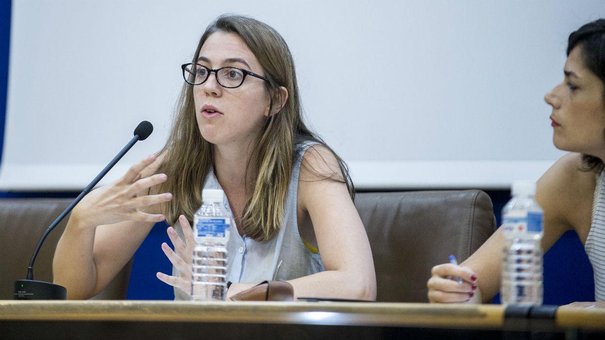 Marina Montoto, nueva asesora de Errejón en la presidencia de la Comisión anticorrupción del Congreso. (Foto: Podemos)
