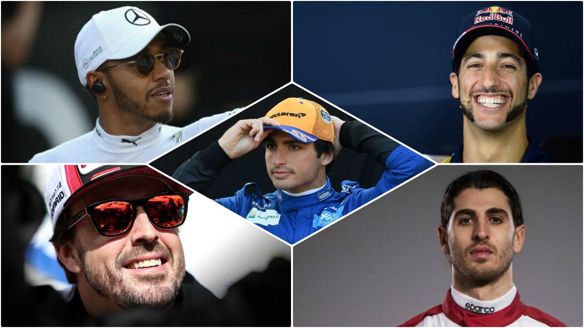 Los rivales de Carlos Sainz para suplir a Vettel en Ferrari.