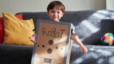 Distintos juguetes que podemos hacer con cartón para que los niños se diviertan