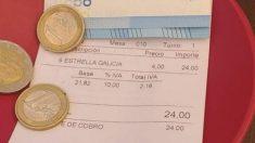 Twitter: 24 euros por 6 cervezas, la cuenta de un bar ha acabado siendo viral