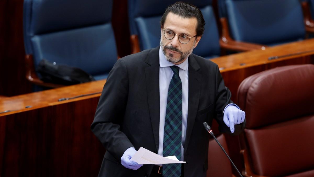 El consejero de Hacienda, Javier Fernández-Lasquetty.